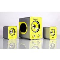 Акустическая система SmartBuy BUZZ SBA-2610 / 2.1 / черно-желтый. Интернет-магазин Vseinet.ru Пенза