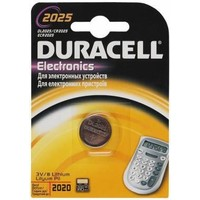 Батарейка Duracell DL2025/CR2025 display 3V Lithium B1 (1шт). Интернет-магазин Vseinet.ru Пенза