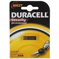 Батарейка Duracell MN27 B1 Security 12V Alkaline. Интернет-магазин Vseinet.ru Пенза