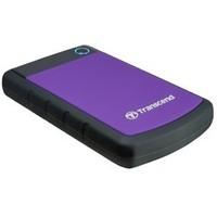 """Жесткий диск HDD Transcend TS2TSJ25H3P, 2Tb, 2.5"""", USB 3.0, питание через USB, фиолетовый. Интернет-магазин Vseinet.ru Пенза"""