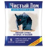 03-030 Тесто-брикет от крыс (100гр). Интернет-магазин Vseinet.ru Пенза