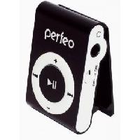 Портативный цифровой плеер Perfeo Music Clip Titanium, черный. Интернет-магазин Vseinet.ru Пенза