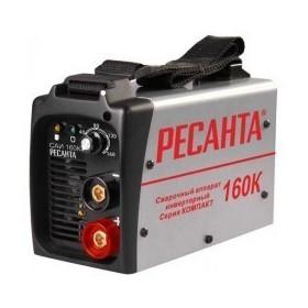 Сварочный аппарат ММА инверторный Ресанта САИ160К / 4800 Вт / 10-160 А / Ф 4 мм