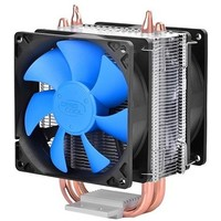 Вентилятор Deepcool ICE BLADE 200M Soc-AMD/1150/1155/1156/2011/ 4pin 18-30dB Al+Cu 130W 390g скоба Dual-90mm-fan RTL. Интернет-магазин Vseinet.ru Пенза