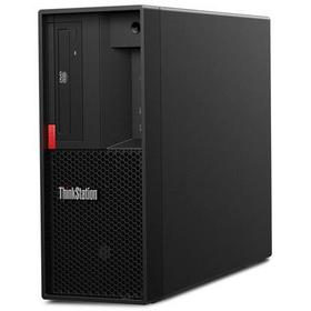 Фото ПК Lenovo ThinkStation P330 MT Xeon E-2244g (3.8)/16Gb/SSD256Gb/UHDG P630/DVDRW/CR/Windows 10 Professional 64/GbitEth/400W/клавиатура/мышь/черный. Интернет-магазин Vseinet.ru Пенза