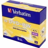 Диск DVD+RW Verbatim 4.7Gb 4x DataLife+ Jewel Case (5шт) 43229. Интернет-магазин Vseinet.ru Пенза