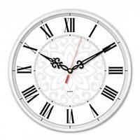 Фото Часы настенные аналоговые Бюрократ WallC-R70P белый. Интернет-магазин Vseinet.ru Пенза
