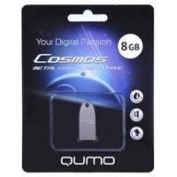 USB накопитель QUMO COSMOS Флеш карта, 8 Gb, USB 2.0, SILVER. Интернет-магазин Vseinet.ru Пенза