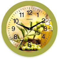 Фото Часы настенные кварцевые ENERGY модель EC-100 оливки. Интернет-магазин Vseinet.ru Пенза