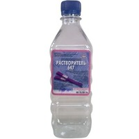 Растворитель 647 (0,5) пэт/б (20). Интернет-магазин Vseinet.ru Пенза