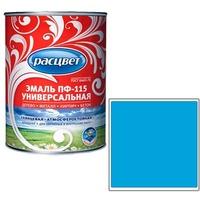 """Эмаль """"Расцвет"""" """"Универсальная"""" голубая 0.9 кг.. Интернет-магазин Vseinet.ru Пенза"""