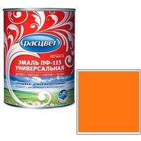 """Эмаль """"Расцвет"""" """"Универсальная"""" оранжевая 0,9 кг.. Интернет-магазин Vseinet.ru Пенза"""