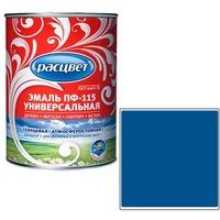 """Эмаль """"Расцвет"""" """"Универсальная"""" синяя 0,9 кг.. Интернет-магазин Vseinet.ru Пенза"""