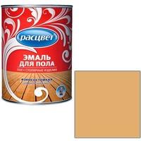 """Эмаль """"Расцвет"""" золот-корич. для пола 1,9 кг.. Интернет-магазин Vseinet.ru Пенза"""