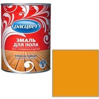 """Эмаль """"Расцвет"""" золотистая для пола 0,9 кг.. Интернет-магазин Vseinet.ru Пенза"""