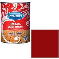 """Эмаль """"Расцвет"""" красно-корич. для пола 0.9 кг.. Интернет-магазин Vseinet.ru Пенза"""