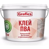 """Клей ПВА строительный """"Grafics"""" 10кг.. Интернет-магазин Vseinet.ru Пенза"""