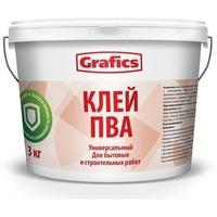 """Клей ПВА строительный """"Grafics"""" 5кг.. Интернет-магазин Vseinet.ru Пенза"""