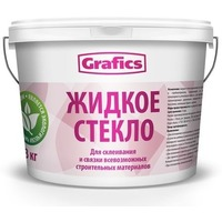 Жидкое стекло 7кг. GRAFICS. Интернет-магазин Vseinet.ru Пенза