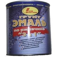 Грунт-эмаль по ржавчине 3 в 1 белая 1л. Интернет-магазин Vseinet.ru Пенза