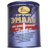 Грунт-эмаль по ржавчине 3 в 1 зеленая 1л. Интернет-магазин Vseinet.ru Пенза