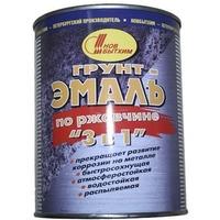 Грунт-эмаль по ржавчине 3 в 1 зеленая 3л. Интернет-магазин Vseinet.ru Пенза