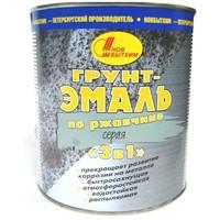 Грунт-эмаль по ржавчине 3 в 1 серая 1л. Интернет-магазин Vseinet.ru Пенза