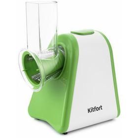 Измельчитель электрический Kitfort КТ-1385 200Вт белый/зеленый. Интернет-магазин Vseinet.ru Пенза