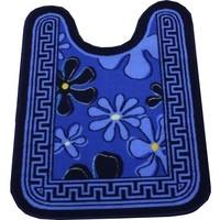 Коврик для туалета NL 57х78см синий. Интернет-магазин Vseinet.ru Пенза