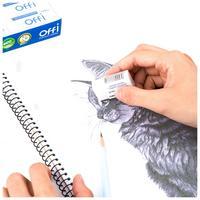 Фото Ластик Deli EH03010 Offi 40x22x12мм ПВХ белый индивидуальная картонная упаковка. Интернет-магазин Vseinet.ru Пенза