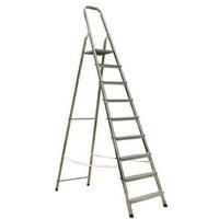 АМ710 Лестница-стремянка алюмин.матовая 10-ступ.. Интернет-магазин Vseinet.ru Пенза