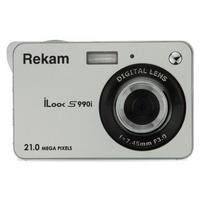 "Фото Фотоаппарат Rekam iLook S990i серебристый 21Mp 3"" 720p SDHC Li-Ion. Интернет-магазин Vseinet.ru Пенза"
