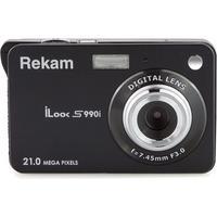 "Фото Фотоаппарат Rekam iLook S990i черный 21Mp 3"" 720p SDHC Li-Ion. Интернет-магазин Vseinet.ru Пенза"