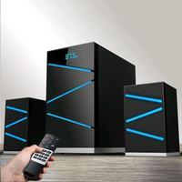 Фото Акустическая система Ginzzu GM-420 2.1, 60W/BT/USB/SD/FM/ДУ. Интернет-магазин Vseinet.ru Пенза