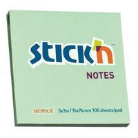 Фото Упаковка блоков самоклеящихся STICK`N 21150 76x76 зеленый. Интернет-магазин Vseinet.ru Пенза