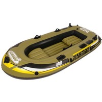 Лодка надувная гребная Fishman 300 Set / 3 места /темно-зелёный / весла+насос JL007208-1N. Интернет-магазин Vseinet.ru Пенза