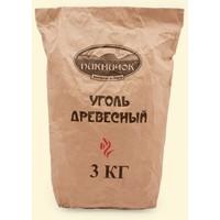 Уголь Пикничок древесный 3 кг. Интернет-магазин Vseinet.ru Пенза
