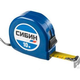 Фото Рулетка СИБИН в пластиковом корпусе 10м/25мм 34020-10-25 z01. Интернет-магазин Vseinet.ru Пенза