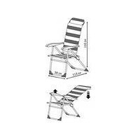 Кресло-шезлонг НИКА складное арт. К2. Интернет-магазин Vseinet.ru Пенза
