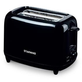 Тостер Starwind ST7002 700Вт черный. Интернет-магазин Vseinet.ru Пенза