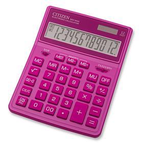 Калькулятор бухгалтерский Citizen SDC-444XRPKE розовый 12-разр.. Интернет-магазин Vseinet.ru Пенза