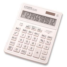 Калькулятор бухгалтерский Citizen SDC-444XRWHE белый 12-разр.. Интернет-магазин Vseinet.ru Пенза