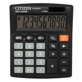 Калькулятор бухгалтерский Citizen SDC-810NR черный 10-разр.. Интернет-магазин Vseinet.ru Пенза