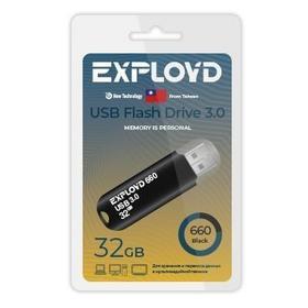 Фото EXPLOYD EX-32GB-660-Black USB 3.0. Интернет-магазин Vseinet.ru Пенза