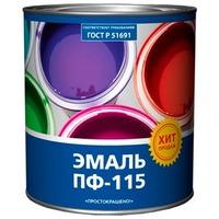 "Эмаль ""Простокрашено!"" белая БАУ 0,9кг. Интернет-магазин Vseinet.ru Пенза"