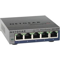 Коммутатор Netgear (GS105E-100PES) 5-портовый 10/100/1000 Мбит/с, Unmanaged+, GUI. Интернет-магазин Vseinet.ru Пенза