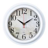Фото Часы настенные аналоговые Бюрократ WALLC-R80P D21см белый. Интернет-магазин Vseinet.ru Пенза