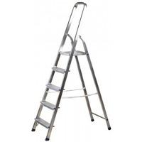 Лестница-стремянка алюминиевая, 4 ступени, 82 см, 38801-4. Интернет-магазин Vseinet.ru Пенза