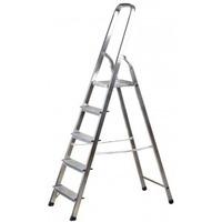 Лестница-стремянка алюминиевая, 5 ступеней, 103 см, 38801-5. Интернет-магазин Vseinet.ru Пенза