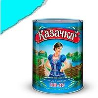 "Эмаль ПФ-115 бирюзовая 0,9 кг. ""КАЗАЧКА"". Интернет-магазин Vseinet.ru Пенза"